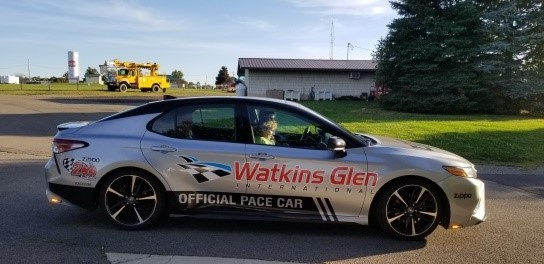 2019 Watkins Glen Racetrack Pace Car Rides
