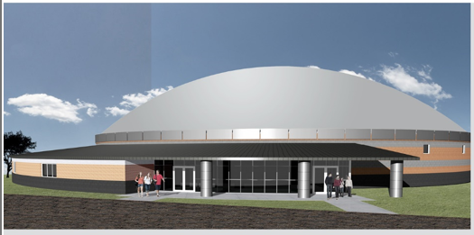 Delaware Military Academy - Athletic Dome Construction Tour